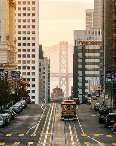 Streets of San Francisco by Oscar Wastaken #sanfrancisco #sf #bayarea #alwayssf #goldengatebridge #goldengate #alcatraz #california