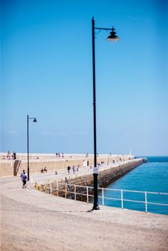 Snapshot of the promenade during summer in Jersey, Channel Islands #EscapeToJersey