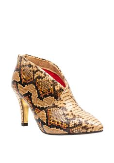 Brown Ankle Boots, Snake Print, Cowboy Boots, Shoes, Fashion, Moda, Shoe, Shoes Outlet, Fashion Styles