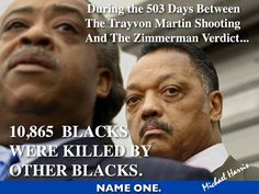Blacks Killing Blacks in America is out of Control... AL and Jessie WHERE ARE YOU????????????????