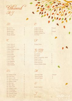 Autumn wedding at the heart of Budapest - Őszi esküvő Budapest szívében Graphic/Grafika: Wedding Design
