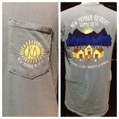 New member retreat shirt