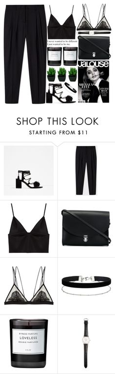 """I just wanted to be me"" by evangeline-lily ❤ liked on Polyvore featuring Zara, Paul Smith, T By Alexander Wang, The Cambridge Satchel Company, Cosabella, Miss Selfridge, Byredo, Ole Mathiesen, AlexanderWang and zara"