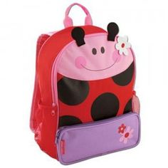 Sidekicks Backpack Ladybug from Stephen Joseph Gifts