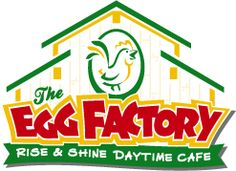 www.eggfactorycafe.com  Food is pretty good prices reasonable always busy, so go eat breakfast 1st then to church, service is good