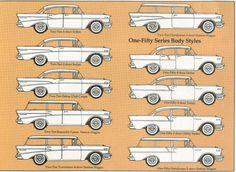 1957 Chevy body styles
