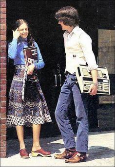 Vintage geek attitude ...