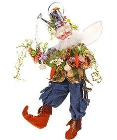Mark Roberts Prolific Gardener Fairy M Mark Roberts Elves, Mark Roberts Fairies, Elves And Fairies, Beautiful Fairies, Christmas Elf, Fantasy Creatures, Faeries, Easter Bunny, Gnomes
