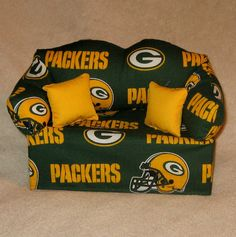Green Bay Packers Sofa Tissue Box Cover FREE SHIPPING by DBAYOU18