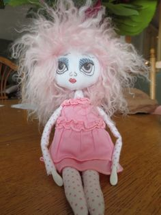 Art Doll by Jan Bush-Wood