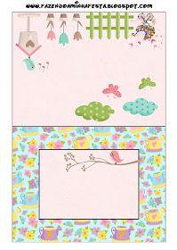 Dicas pra Mamãe: Kit de festa Personalizado com tema Jardim Encantado Bird Party, Minecraft Crafts, Minnie, Birds, Scrapbook, Frame, Prints, Tema Floral, Envelopes