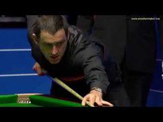 Ronnie O'Sullivan vs Stephen Maguire (frame 17) Snooker World Championship 2018 (R1) - YouTube
