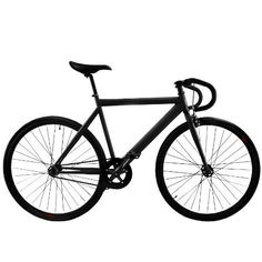 Zycle Fix Bicycle Matte Black Prime Series Fixed Gear Track Fixie Bike - http://www.bicyclestoredirect.com/zycle-fix-bicycle-matte-black-prime-series-fixed-gear-track-fixie-bike/