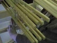 Kankaan rakentaminen: muuttumaton ja muuttuva sidonta | Punomo Make It Yourself, Wood, Weaving Looms, Woodwind Instrument, Timber Wood, Trees