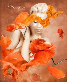 ORANGE by JustAboutArt #photomanipulation #digitalart #art #photoshop