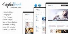 Review Alphapack - Premium WordPress ThemeIn our offer link above you will see