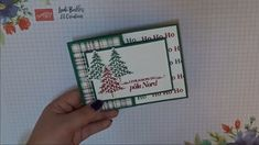 Pop Out Cards, Fun Fold Cards, Folded Cards, Homemade Christmas Cards, Christmas Tree Cards, Stampin Up Christmas, Gift Cards Money, Stamping Up Cards, Card Making Techniques