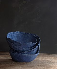 DIY papier maché bowls by YUNIKO STUDIO