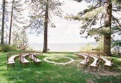 non traditional ceremony seating