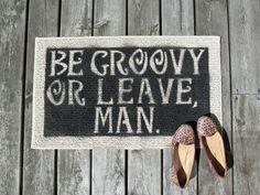 DIY Home Decor : DIY Welcome Mat