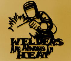 WelderMetal by BKcreations1 on Etsy, $59.95
