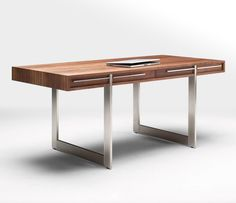 modern Office Desk | Wood is a natural material and varies greatly. For assurance that ...