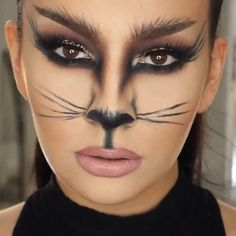 - My list of the most creative makeup secrets Cat Face Makeup, Lion Makeup, Wolf Makeup, Simple Cat Makeup, Creative Makeup, Cat Makeup Tutorial, Makeup Tutorials, Catwoman Makeup, Leopard Makeup