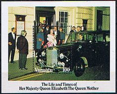 Vanuatu 1985 Queen Mother Life and Times Miniature Sheet Fine Mint SG 410 Scott 396 Queen Mothers 85th Birthday Condition Fine MNH Only one post