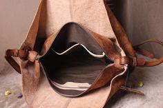 Bolso de cuero vintage las mujeres de cuero por MagicLeatherStudio