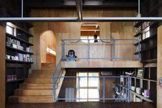 innovative raw-finishing wood-based interior alone cave