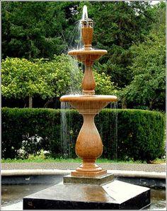 Diseño de Fuentes para el Jardín