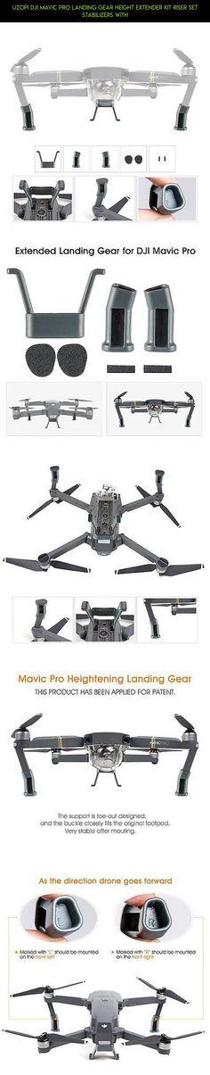 UZOPI DJI Mavic Pro Landing Gear Height Extender Kit Riser Set Stabilizers with #tech #drone #gadgets #kit #mavic #dji #pro #racing #fpv #parts #shopping #kit #technology #products #camera #plans