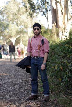 Suspenders. #style #fashion #men