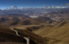 Crossing Tibet from Lhasa to Kathmandu Romulo Rejon 作成