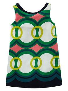 Baby Gap Pattern Play Ponte Geo Print Dress Shift 2 3 4 5 2T 3T 4T 5T | eBay