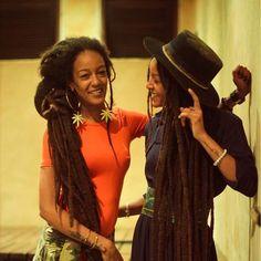 - Asha (@ashawadada)  : @rayacharles: @rebelstodons || long locs. Dreads. Dreadlocks. Natural hair. Loc'd hair.
