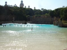 The Wave Pool at Sun City, South Africa