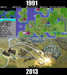 Sid Meier's Civilization - - thanks to my brother/enabler/pusher James, I've played every version!