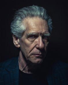 Ritratti di persone famose, quasi quadri - Il Post  David Cronenberg