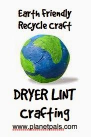 Make a Dryer Lint Earth. It's a Rumbly Tumbly Recycle Craft for Earth Day -http://planetpalsblog.blogspot.com/2014/04/make-dryer-lint-earth-its-rumbly-tumbly.html#sthash.j9Y6BTiC.dpuf
