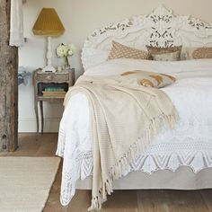 Opt for an ornate carved headboard | How to create a French-style home | French decorating ideas | Country decorating | PHOTO GALLERY | Country Homes & Interiors | Housetohome