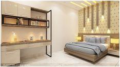 Door Design, Bed Design, Bedroom Ceiling, Divider, Study, Doors, Furniture, Home Decor, Studio