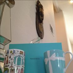 Tiffany and co mugs