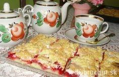 Fotorecept: Grófkin koláč s ríbezľami