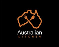 Australian kitchen Logo design - I love Australia!<br /><br />Name and colors can be changed for free. Price $350.00