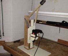 I decided to build a drill press for 12$.I have mostly used design by Izzy Swan he have pretty good build videos: His YouTube Channel Here You can see the ...