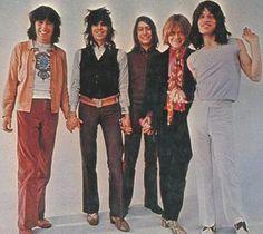 Los Stones en los 70.