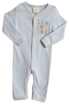 ABSORBA BabyBoys Newborn Coverall Shirt Blue 36 Months >>> Check out this great product.