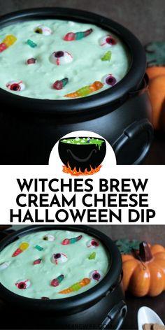 Halloween Dip, Halloween Breakfast, Halloween Snacks For Kids, Halloween Camping, Halloween Appetizers, Halloween Dinner, Halloween Desserts, Halloween Treats, Halloween Recipe