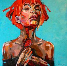 BUTTERFLY II oil ona canvas 2016